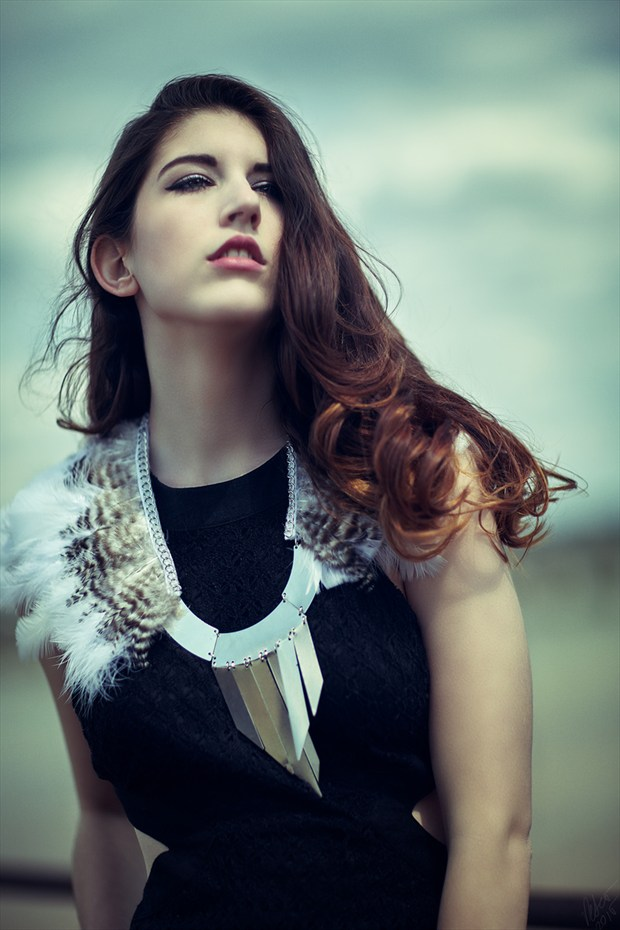 Glamour Fashion Photo by Model Breanna Marie