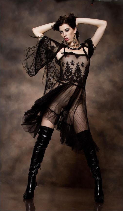 Glamour Fashion Photo by Model Jaylynn Mitchell