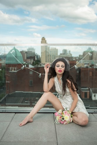Glamour Fashion Photo by Model Sonnie Marie