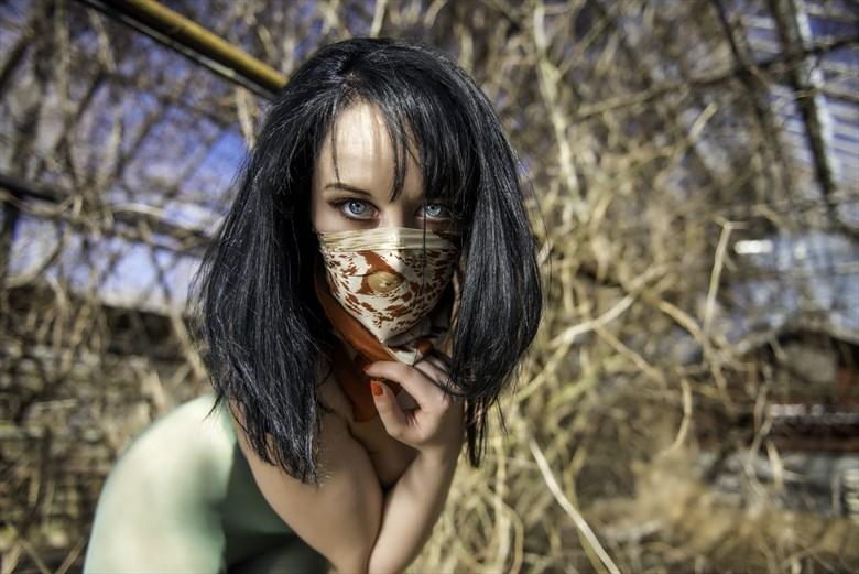 Glamour Horror Artwork by Model Jennifer Evie