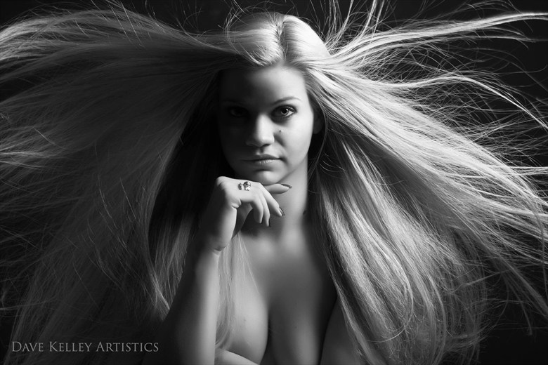 Glamour Implied Nude Artwork by Photographer Dave Kelley Artistics