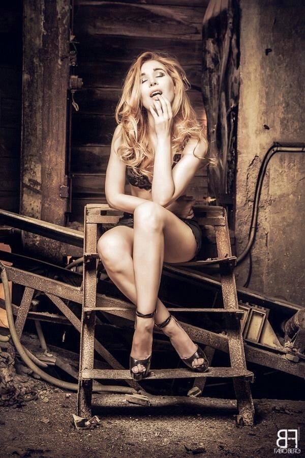 Glamour Photo by Model Diana Tess