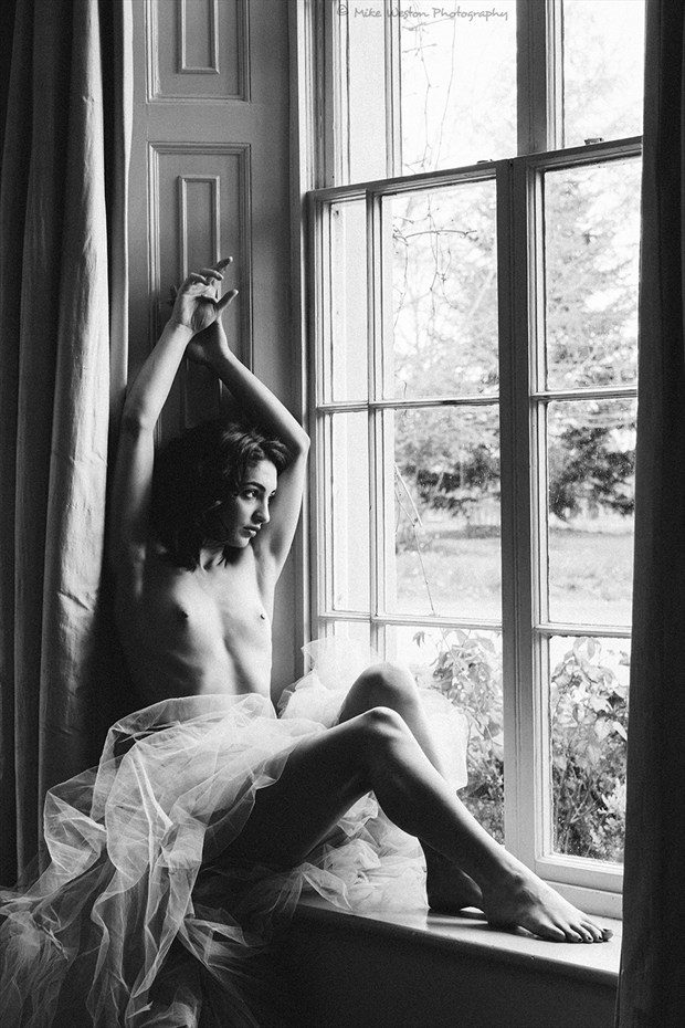 Glass House Artistic Nude Photo by Model MISCHKAH