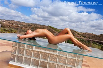 Glass Table Artistic Nude Photo by Photographer Stuart_Thomson