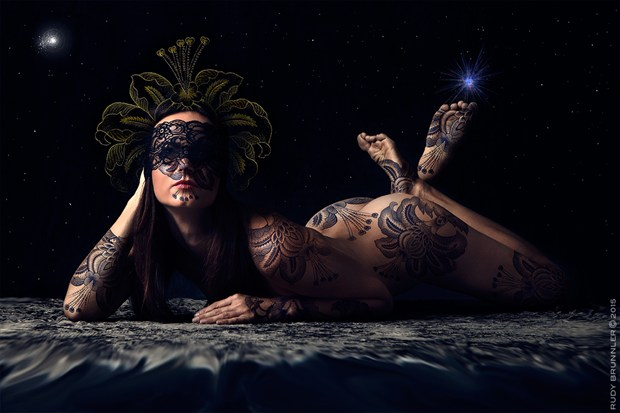 Goddess Artistic Nude Photo by Photographer RudyBrunnler