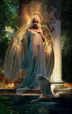 Goddess Fantasy Photo by Artist Scott Grimando