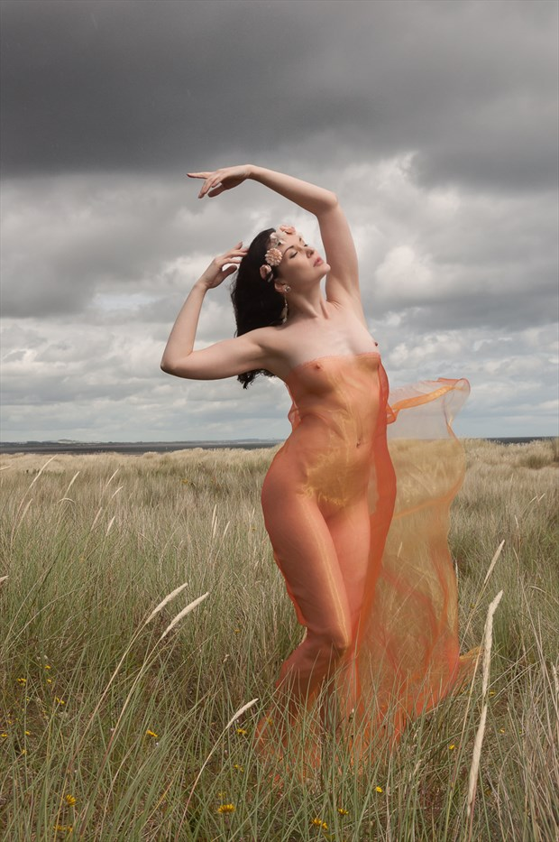 Goddess of the Dunes Artistic Nude Photo by Photographer Calandra Images
