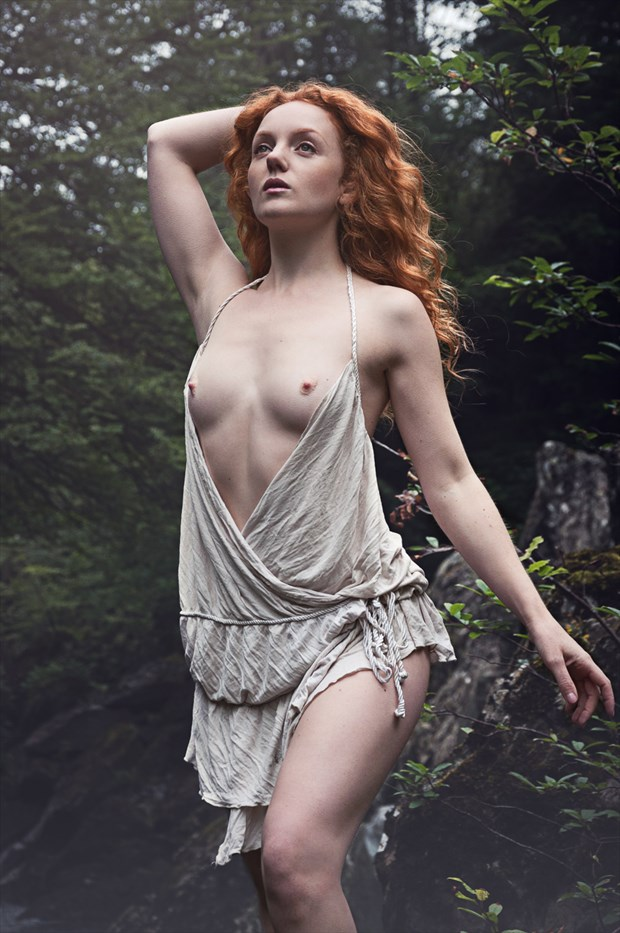 Goddess of the Glen Artistic Nude Photo by Photographer Calandra Images