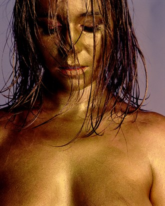 Gold Artistic Nude Photo by Photographer John Keedwell