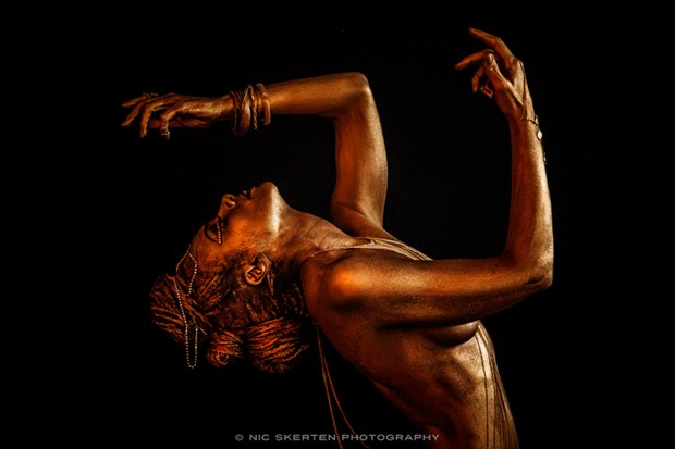 Gold II Artistic Nude Photo by Photographer nicnic