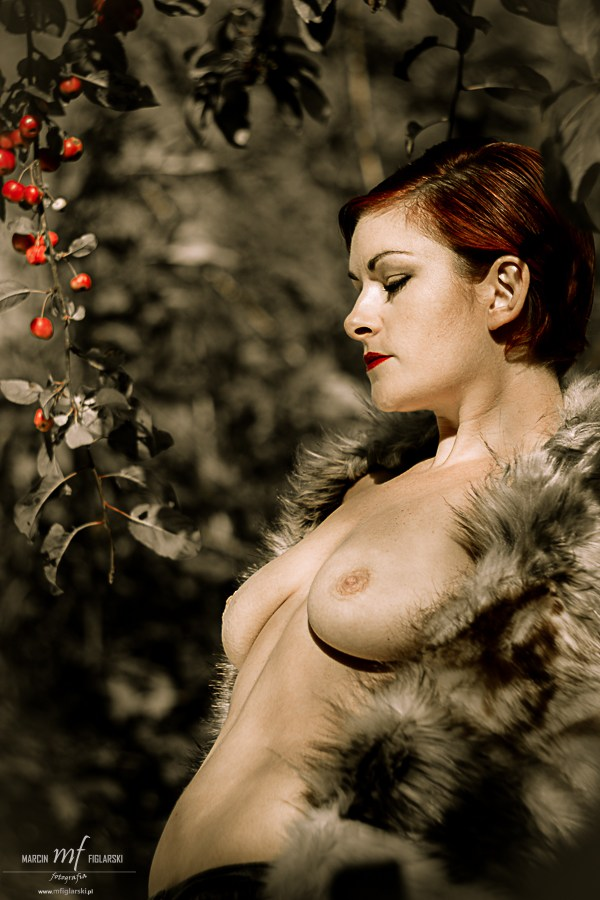 Golden Artistic Nude Photo by Model Laura J Draycon