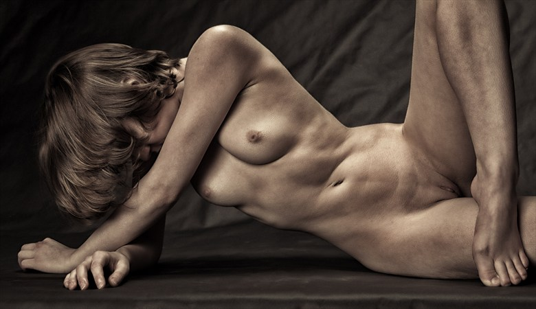 Golden Girl Artistic Nude Photo by Photographer rick jolson