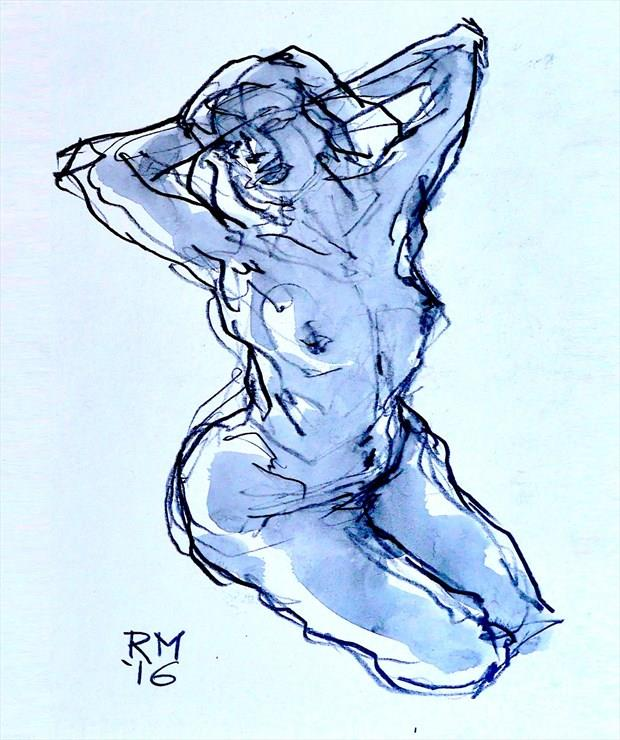 Good Morning Artistic Nude Artwork by Artist Rob MacGillivray