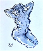 Good Morning Artistic Nude Artwork by Artist Rob MacGillivray