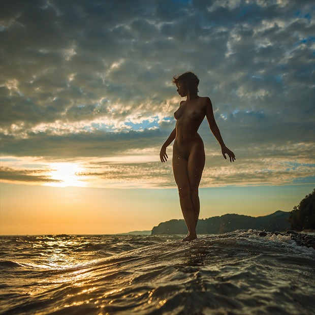 Goodbye Sun Artistic Nude Photo by Photographer dml