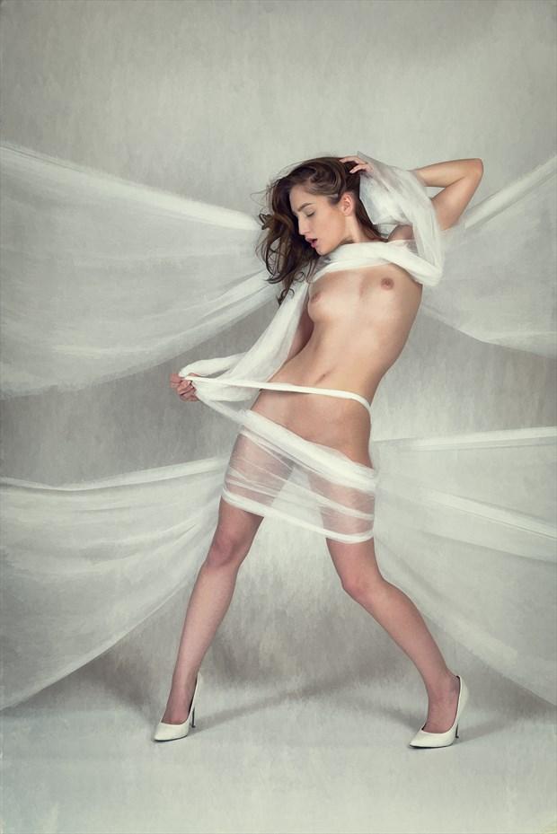 Gossamer Ties Artistic Nude Photo by Photographer Rascallyfox
