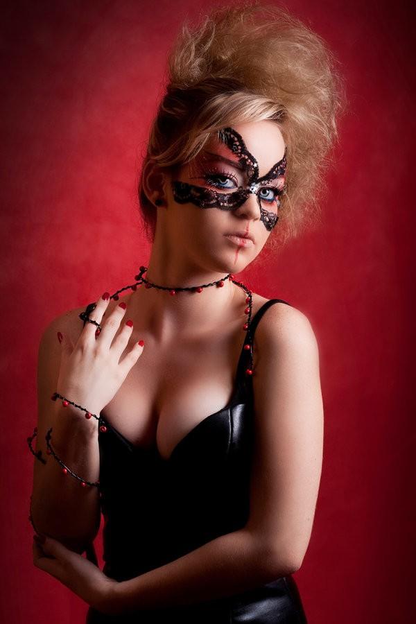 Gothic Barbie Fantasy Photo by Photographer Rafael Mesa