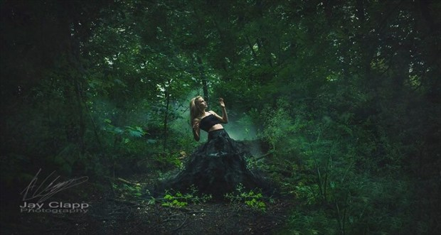 Gothic Emotional Photo by Model Amy Coco