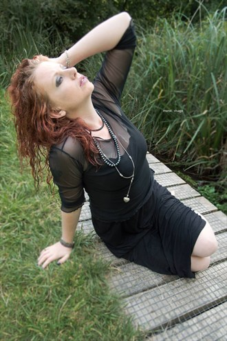 Gothy Riverside with Richard Gould Nature Photo by Model  Pinklilith