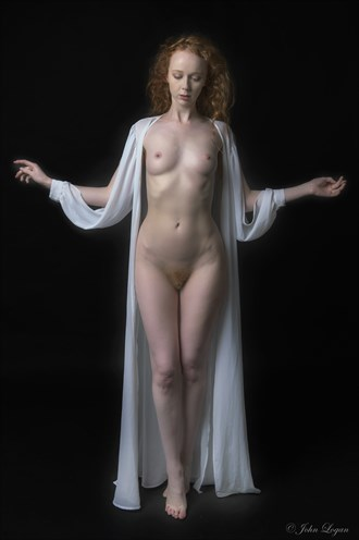 Grace Artistic Nude Photo by Photographer John Logan
