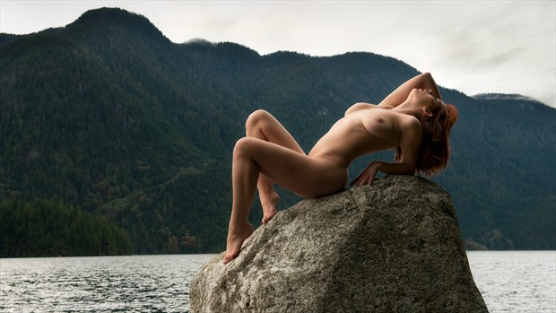 Granet Falls Vancouver Artistic Nude Photo by Photographer Phil O%60Donoghue
