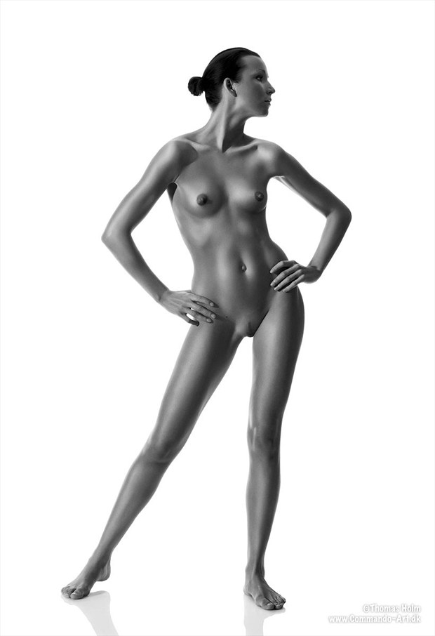 Greek Godess Artistic Nude Photo by Photographer CommandoArt