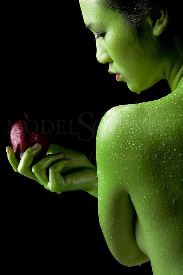 Green Apple Artistic Nude Photo by Photographer jcphotoz