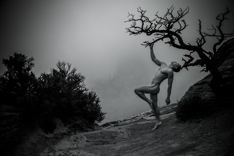 Green River Overlook Artistic Nude Photo by Artist April Alston McKay