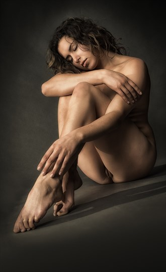 Green with Envy Artistic Nude Photo by Photographer rick jolson