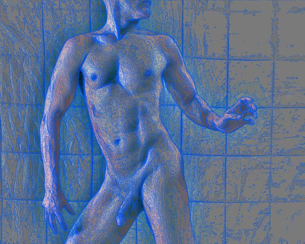 Gridify Artistic Nude Photo by Model Avid Light