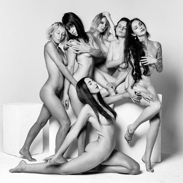 Group Art Artistic Nude Photo by Model Kelly_Kooper