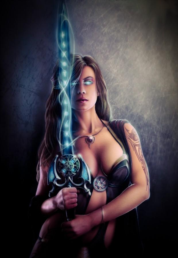 Guardian of light Tattoos Artwork by Artist Svee