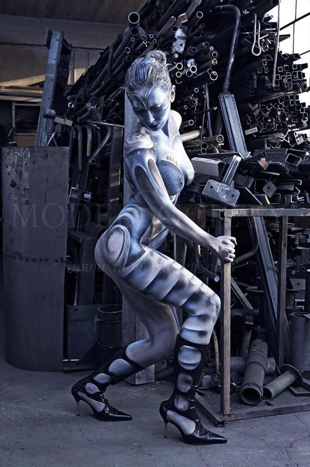 HEAVY METAL II Fantasy Artwork by Artist Bodypaint D%C3%BCsterwald