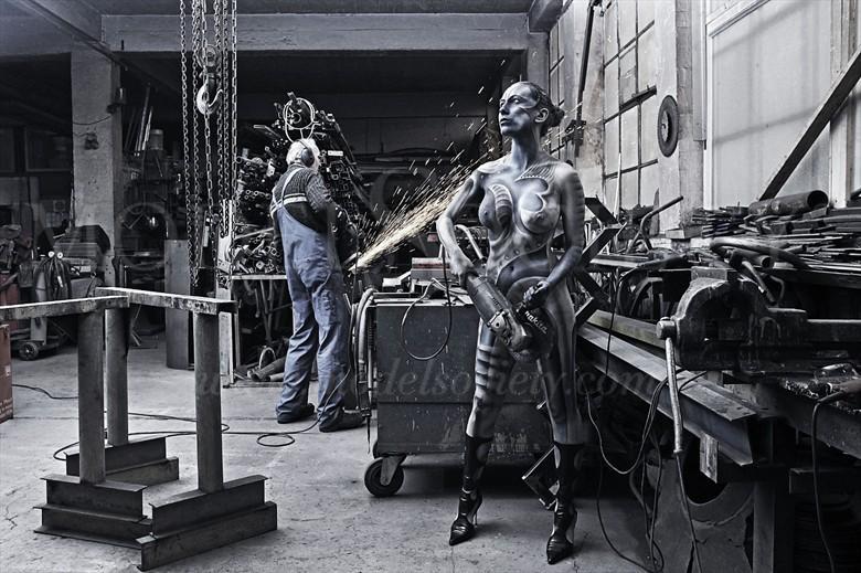 HEAVY METAL III Fantasy Artwork by Artist Bodypaint D%C3%BCsterwald