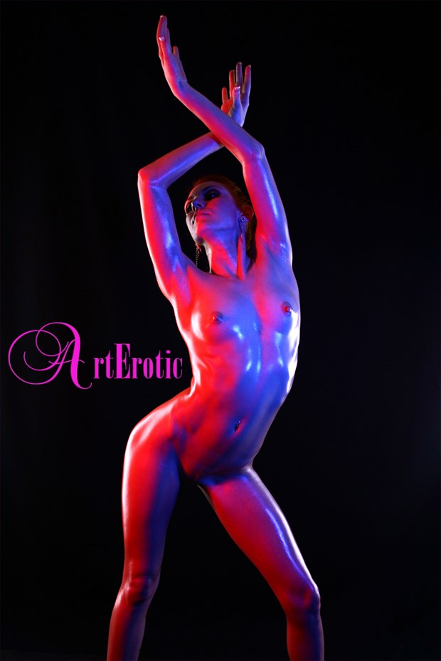 Hailey Color Gells  Artistic Nude Photo by Photographer ArtErotic