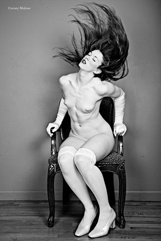 Hair Artistic Nude Photo by Photographer Carney Malone