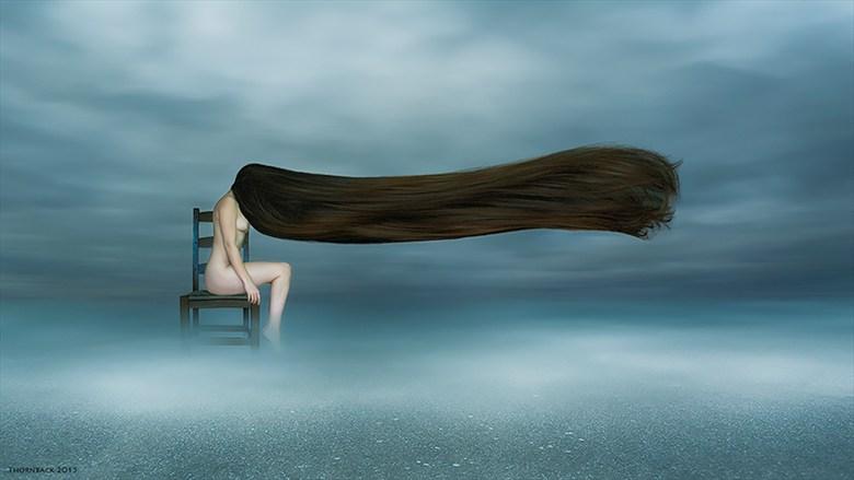 Hair Artistic Nude Photo by Photographer Thornback