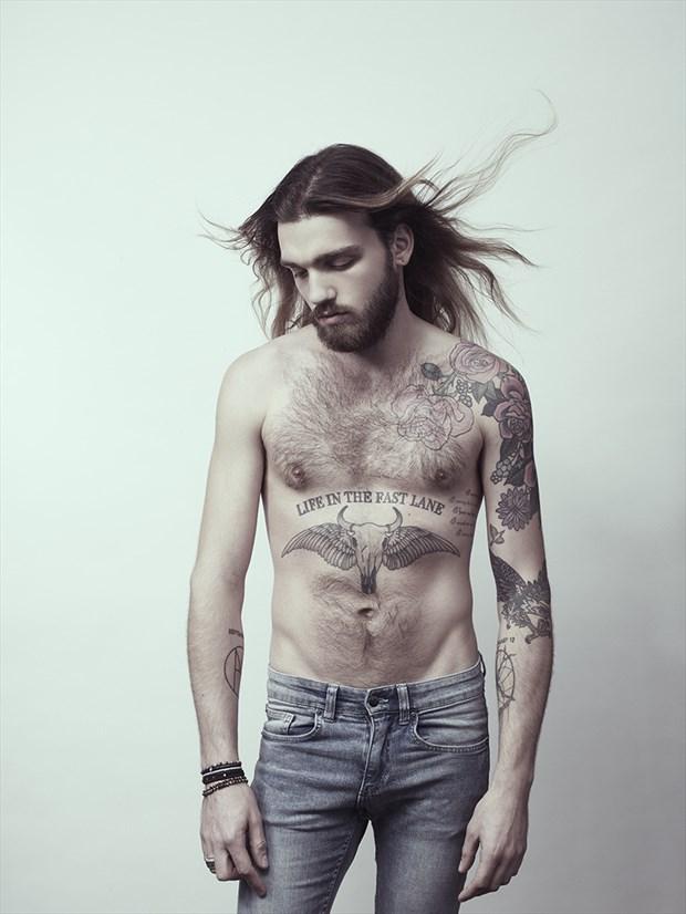 Hair Tattoos Photo by Model Michael Hart