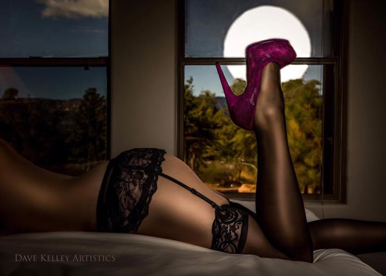 Halloween and Full Moon Lingerie Photo by Model ZushkaBiros