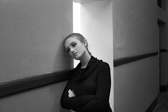 Hallway Portrait Photo by Photographer chromatik