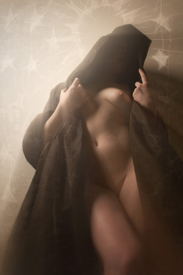 Halo of Sun and Stars Artistic Nude Photo by Artist David Bollt