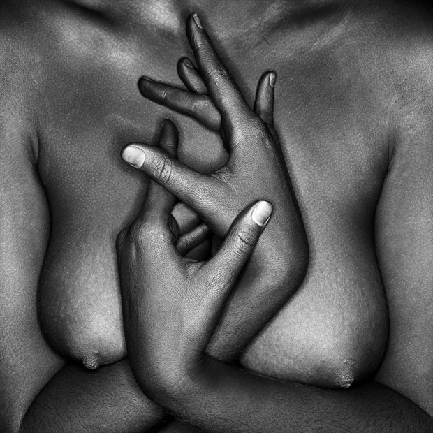 Hands and Figure Artistic Nude Photo by Photographer Lumin