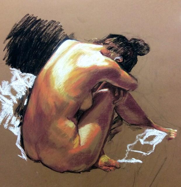 Hannah K Artistic Nude Artwork by Artist Rod