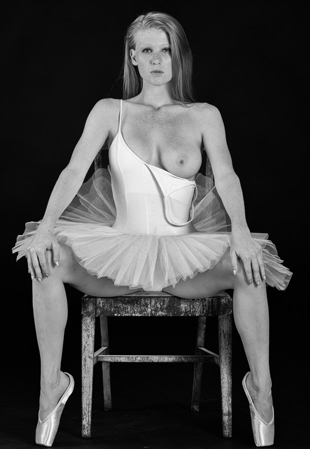 Hannah in Ballet Shoes Artistic Nude Photo by Photographer lancepatrickimages