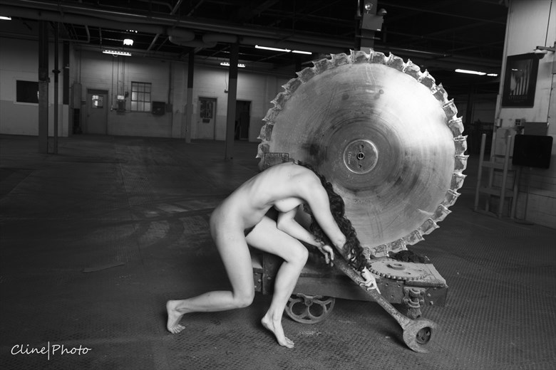 Hard Labor Artistic Nude Photo by Photographer ClinePhoto