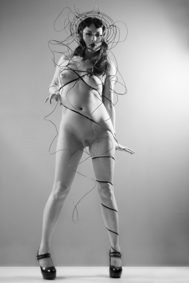 Hard Wired Artistic Nude Photo by Photographer Dexellery Photo