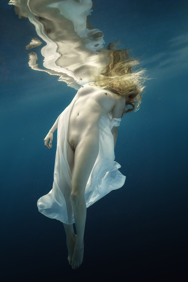 Harmony of water and light Artistic Nude Photo by Photographer dml