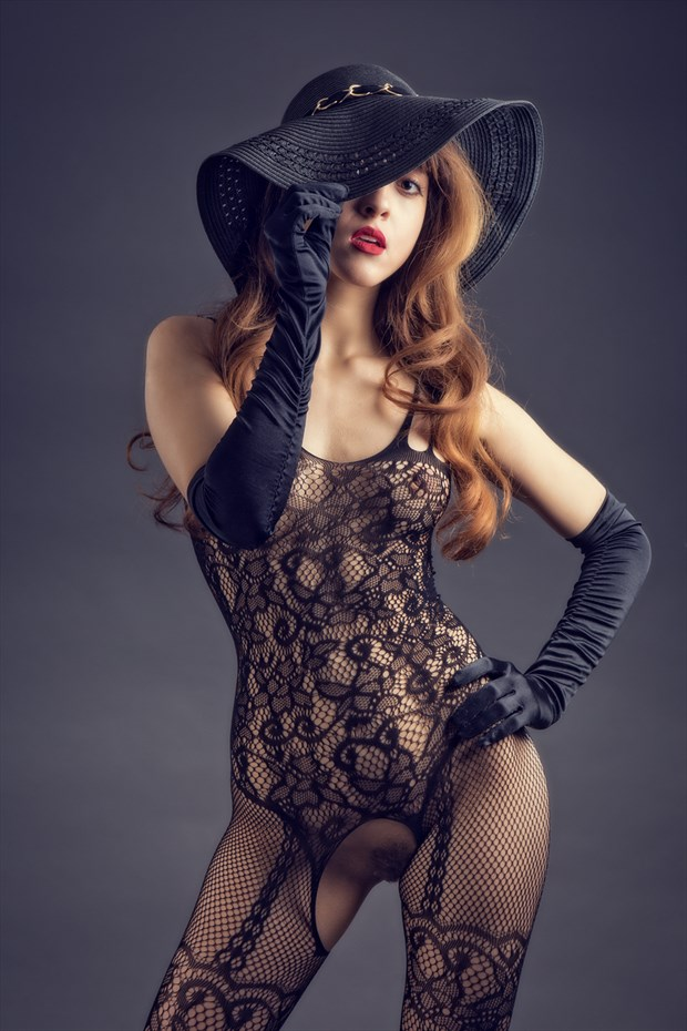 Hat, Gloves and No.... Glamour Photo by Photographer MaxOperandi