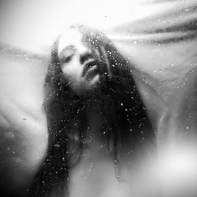 Haunted Most by the Ghosts I've Been Abstract Photo by Model Sekaa