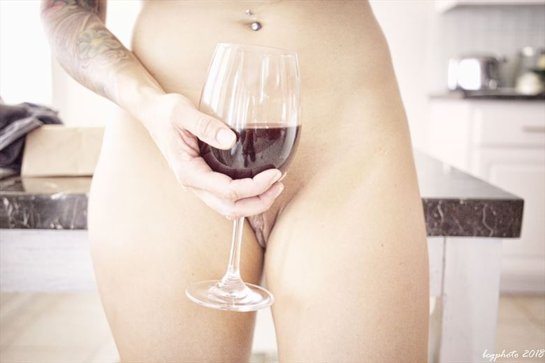Have a drink with me Artistic Nude Photo by Photographer Barry Gallegos